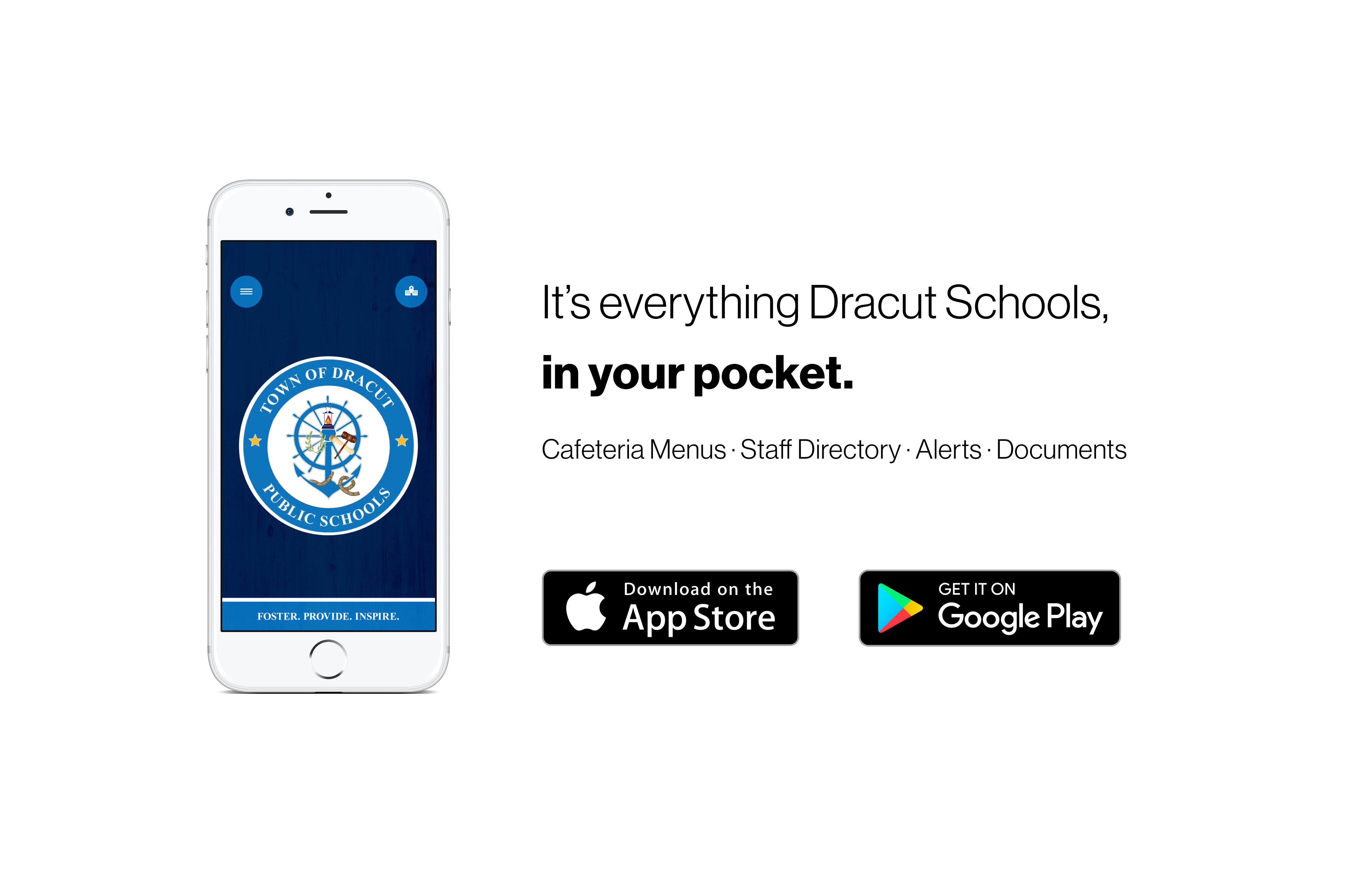 Download our new mobile apps today!